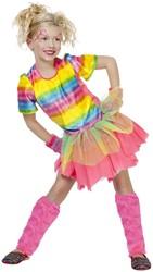 Discojurkje Neon Rainbow Girl