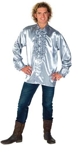Rucheblouse Super Luxe Zilver