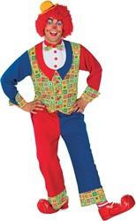 Kostuum Clown Luxe 2dlg.