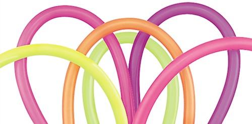 Qualatex Modelleerballonnen Neon 100st