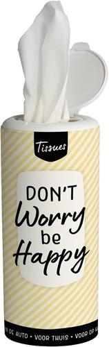 Tissue Dispenser Be Happy