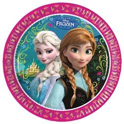 Bordjes Frozen 23cm 8st.
