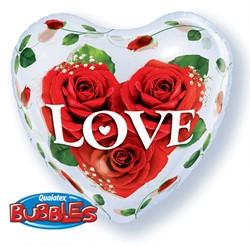 Bubble Ballon Hart Love