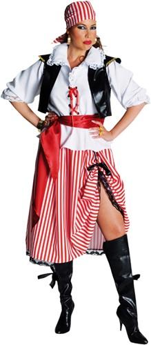 Piratenkostuum Dame Halflang