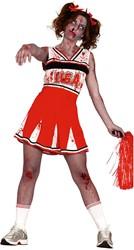 Dameskostuum Zombie Cheerleader