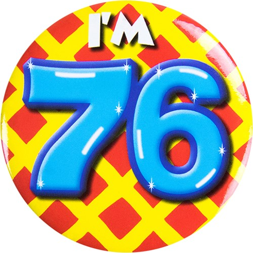 Button 76 jaar