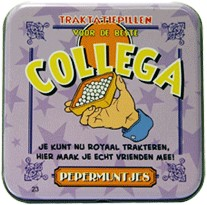 Pocket Tin Collega