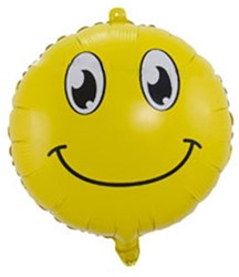 Folieballon Emoticon Smiley 45cm