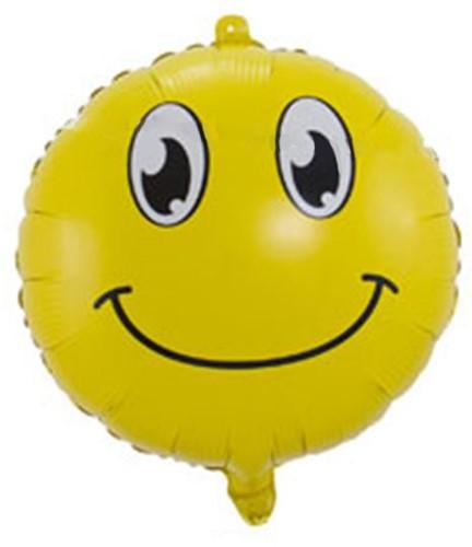Folieballon Emoticon Smiley 45cm