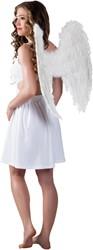Engelen Vleugels Wit (65x65cm)