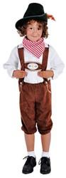 Tiroler Broek Bruin voor kinderen