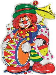 Deco Clown Trommel (85x48cm)