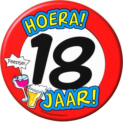 Bierviltjes Hoera! 18 jaar!