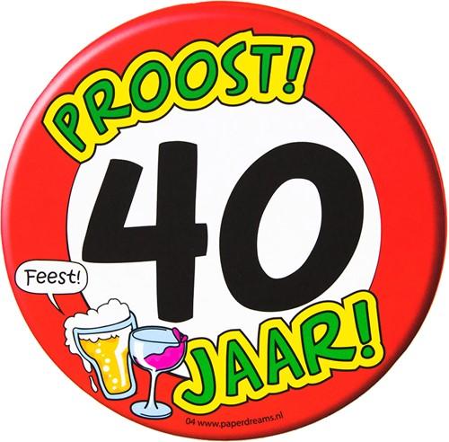 Bierviltjes Hoera! 40 jaar!