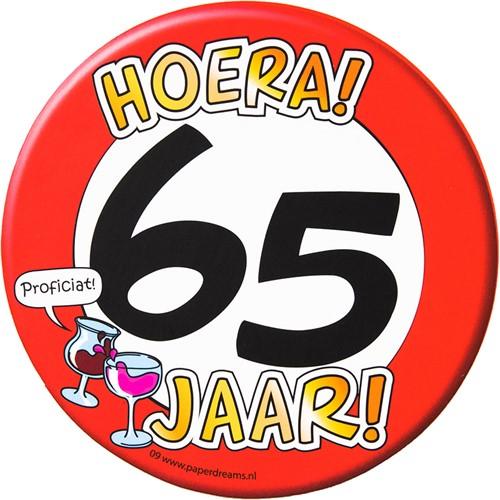 Bierviltjes Hoera! 65 jaar!