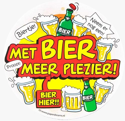 Bierviltjes Met Bier Meer Plezier!