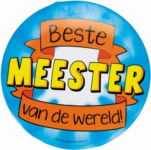 Button XL Beste Meester