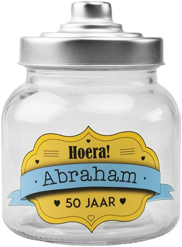 Snoeppot Abraham