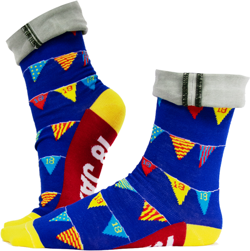 Funny Socks 18 Jaar!