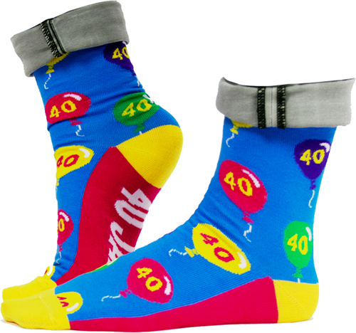 Funny Socks 40 Jaar!