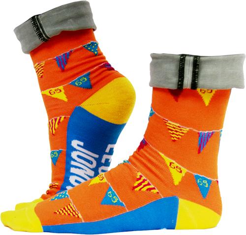 Funny Socks 65 Jaar!