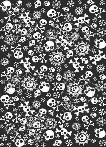 Tafelkleed Horror 130X180cm