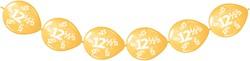 Doorknoopballonnen 12,5 Koper Metallic 8st.