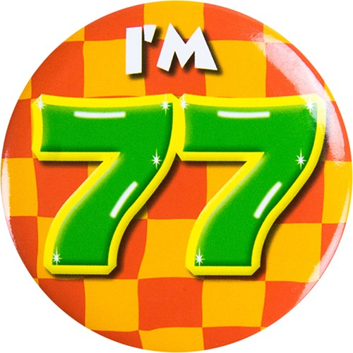 Button 77 jaar