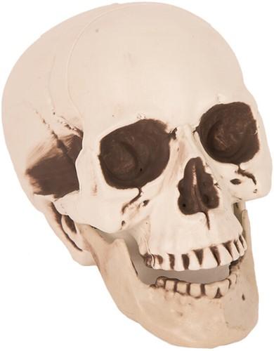 Halloween Decoratie Skull Doodshoofd 21cm