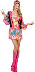 Damesjurkje Hippy Woodstock