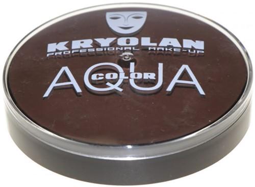 Aquacolor Kryolan 20ml Zwartbruin 102