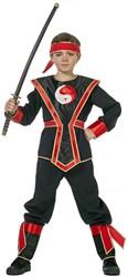 Ninja Kostuum Rood voor kinderen