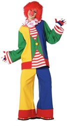 Dameskostuum Clown Multi