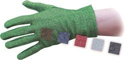 Handschoenen Glitter Luxe Zwart