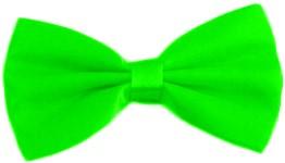 Strikje Satijn Luxe Neon Groen