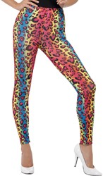 Legging Panter Gekleurd voor dames