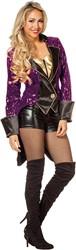 Dames Showjas Purple Lady Luxe