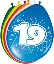 Ballonnen 19jaar 8st