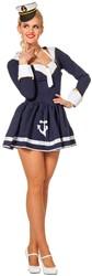 Dameskostuum Sexy Matroosje Navy