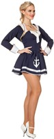 Dameskostuum Sexy Matroosje Navy-2