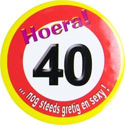 Button Hoera 40!