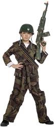 Kinder Soldaten Kostuum Camouflage