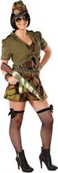 Dameskostuum Combat Gril