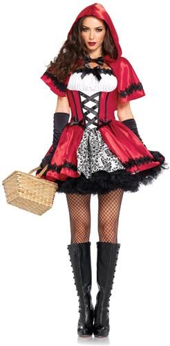 Jurkje Gothic Roodkapje voor dames