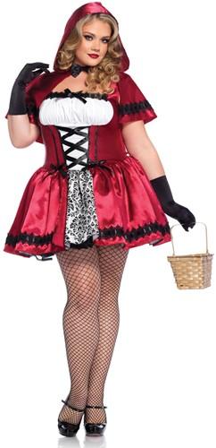 Jurkje Gothic Roodkapje voor dames-3