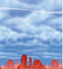 Scenesetter Red Rock/Sky