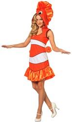 Damesjurkje Tropische Vis Nemo