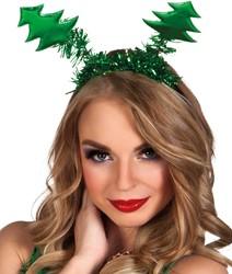 Diadeem Kerstboompjes Glanzend