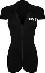 Dameskostuum Catsuit SWAT