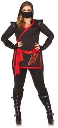 Dameskostuum Assassin Ninja (Plus Szie)